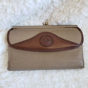 Vintage Dooney and Bourke Pebble Leather Wallet